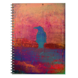 Raven's Reverie Spiral Notebook