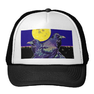 Ravens Spooky Moon @ by Sharles Hat