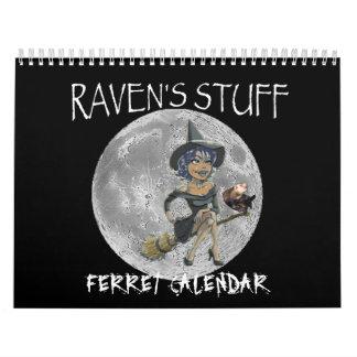 ravens stuff ferret calendar