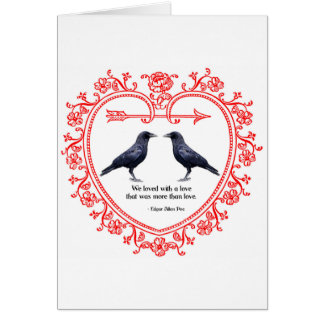 Ravens Valentine Card