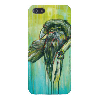 Raven's Writing Desk iPhone 5/5S Case