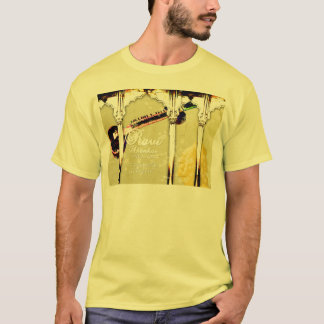 Ravi Shankar Tribute To Sitar -Arches, Music, Star T-Shirt
