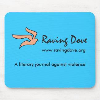 Raving Dove Mousepad