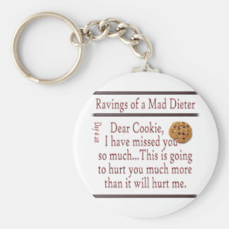 Ravings of a Mad Dieter_Cookie Keychain