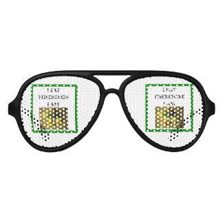 ravioli aviator sunglasses