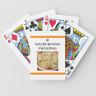 RAVIOLI BICYCLE PLAYING CARDS