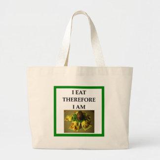 ravioli large tote bag