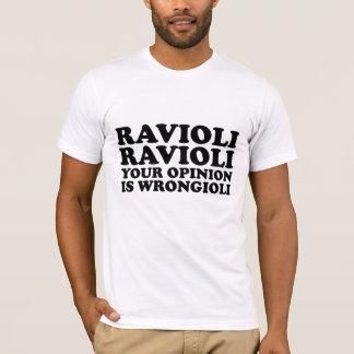ravioli ravioli tee shirt