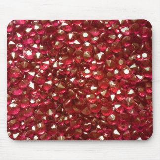 Ravishing Red Crystals Mouse Pad