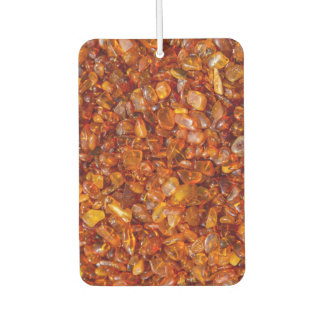 Raw amber pebbles air freshener