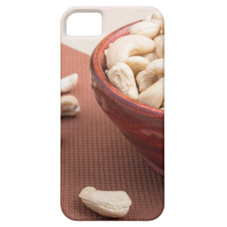 Raw cashew nuts for vegetarian food closeup case for the iPhone 5