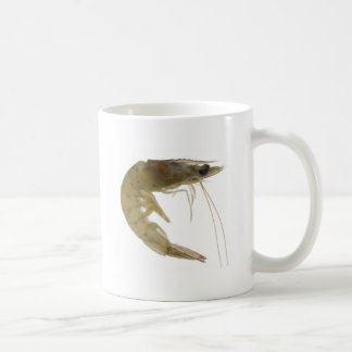 Raw grey prawn coffee mug