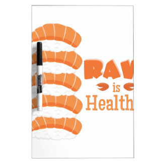 Raw Healthy Dry Erase Board