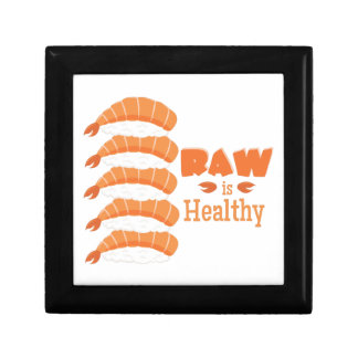 Raw Healthy Jewelry Boxes