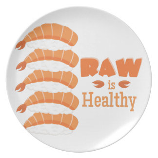 Raw Healthy Plate