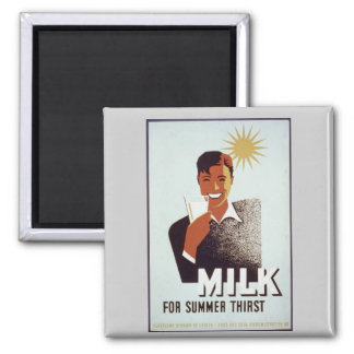 Raw milk Gifts and T-shirts Magnet