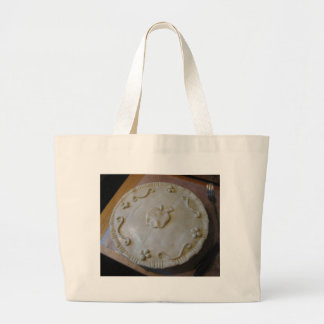 Raw Pie Large Tote Bag