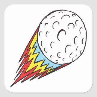 Raw Power Square Sticker