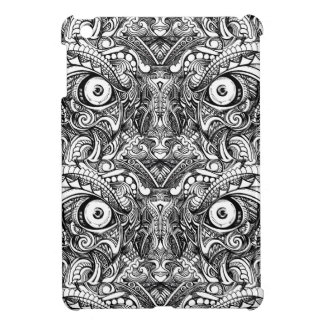Raw Rough Mean Angry Evil Eyes Sharp Detailed Hand Case For The iPad Mini