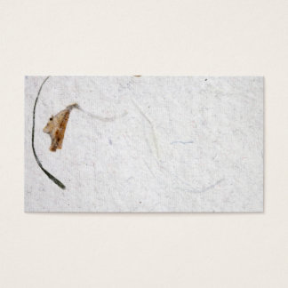 Raw vintage paper texture business card