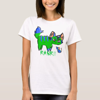 Rawr and Mouse - RAWR!! T-Shirt