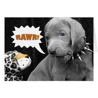 RAWR CARD