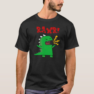 RAWR Dino - customizable! T-Shirt