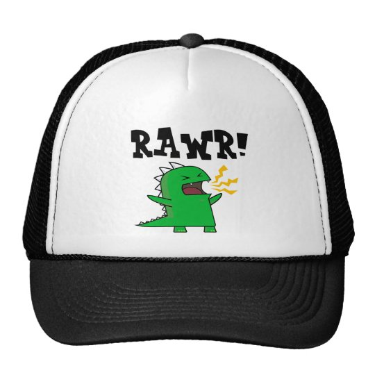 RAWR Dino - customizable! Trucker Hat