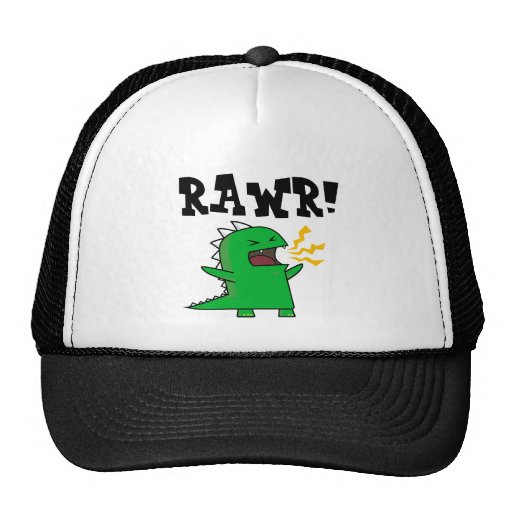 RAWR Dino - personnalisable ! Casquettes