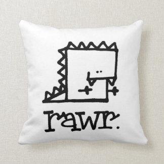 Rawr Dinosaur Meepple Pillow