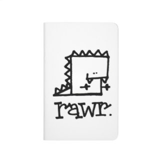 Rawr Dinosaur Meepple Pocket Journal