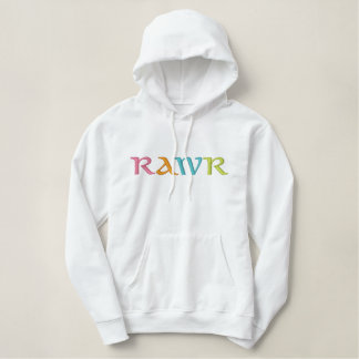 RAWR EMBROIDERED HOODIE