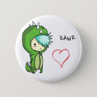 Rawr means love 2 inch round button