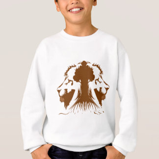 Rawr, Tiger Tree Sweatshirt