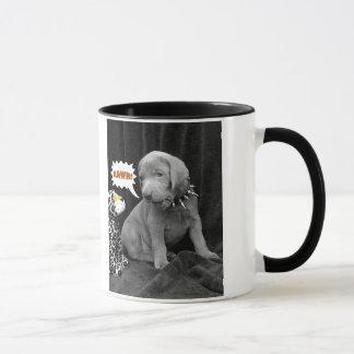 Rawr two-tone mug