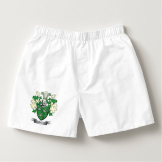 Ray Family Crest Coat of Arms Boxers