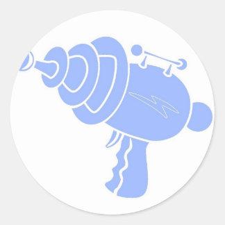 Ray Gun Round Sticker