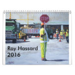 Ray Hassard Calendar 2016 Artwork