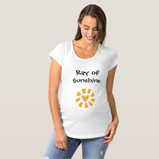 Ray of Sunshine Pregnancy Maternity Top