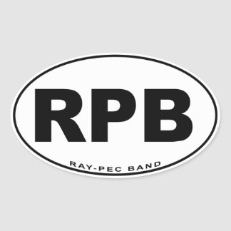 Ray-Pec Band Sticker