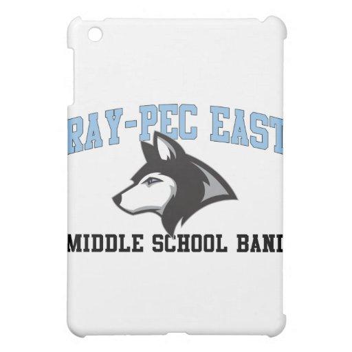 Ray-Pec East Middle School Band iPad Mini Case