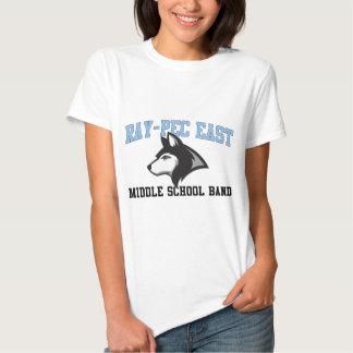 Ray-Pec East Middle School Band Tshirts