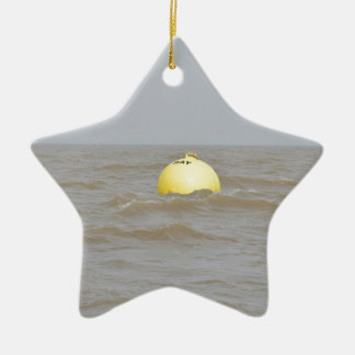 Ray Sands Buoy Ceramic Star Ornament