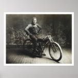 Ray Weishaar Winner 100 mi. Race [1914] Print