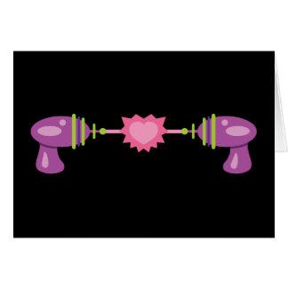 Raygun Love Card