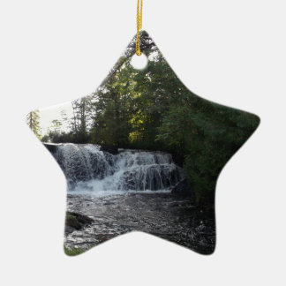 Rayleigh Falls Ceramic Star Ornament