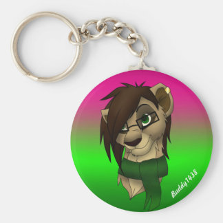 Raylene the Lioness Keychain