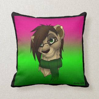 Raylene the Lioness ~ Throw  Pillow
