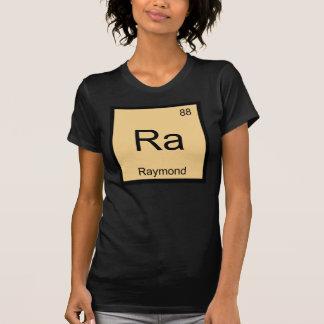 Raymond Name Chemistry Element Periodic Table Tee Shirt