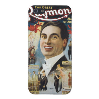 Raymond The Great ~ Miracles Vintage Magic Act iPhone 5/5S Covers
